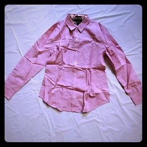 NWT CWonder Pink Long Sleeve Button down